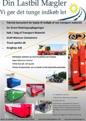 Container - opbygninger - lastbiler - redningsbiler - spoilerudrustning
