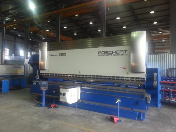 Tysk kantpresser / 175 ton / 6100 mm