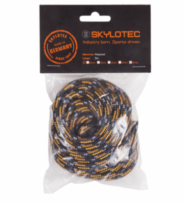 Reb Skylotec 6mm sort - 5m