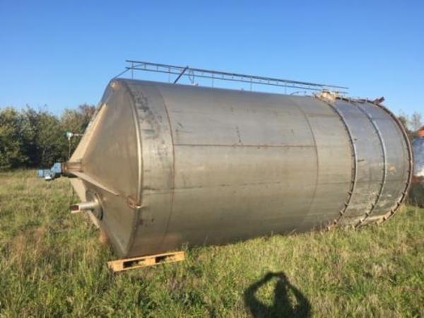 60.000 liters rustfri tank