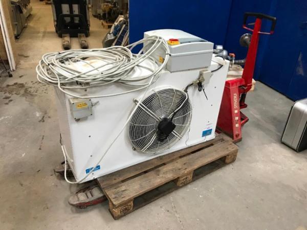 WALTER ROLLER køler inkl. kompressor og datalocker.
