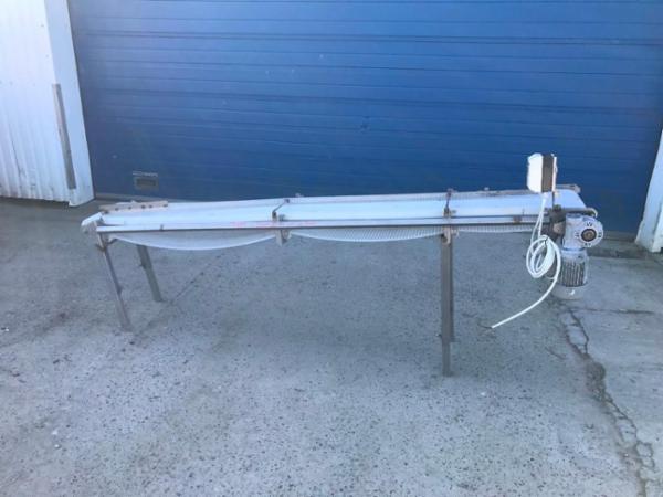 Transportbånd T.157. Længde 250cm.