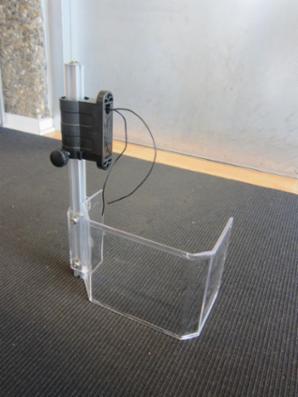 Spindelafskærmning for søjleboremaskine - lille.