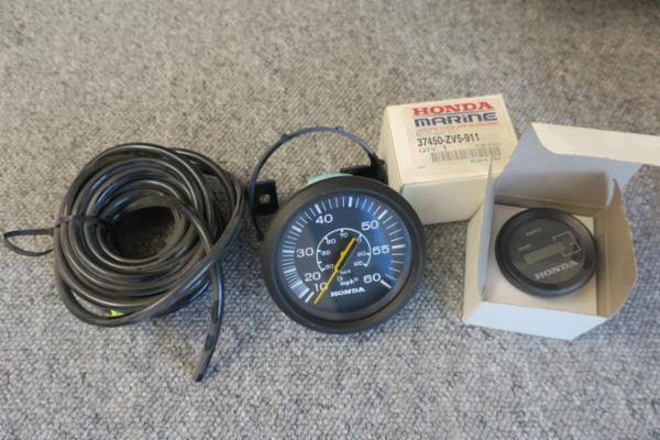 Speedometer og timetæller honda