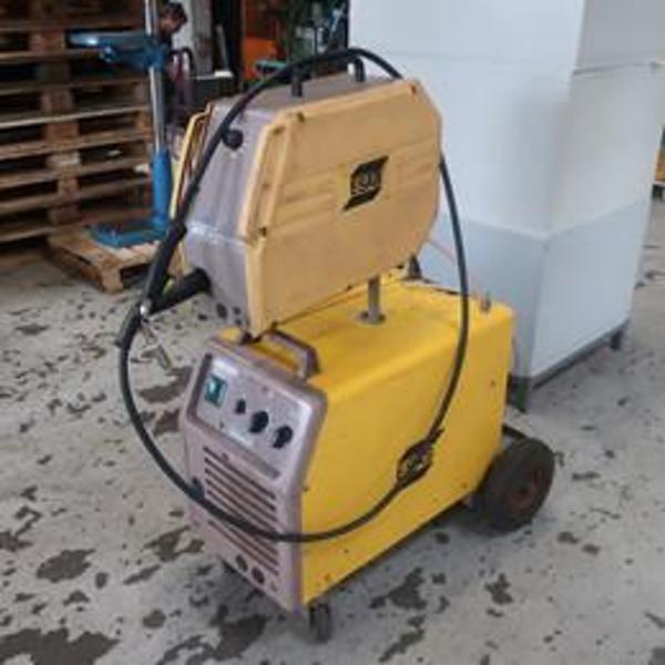 Brugt esab lax 320 CO-2 anlæg - 320 amp.