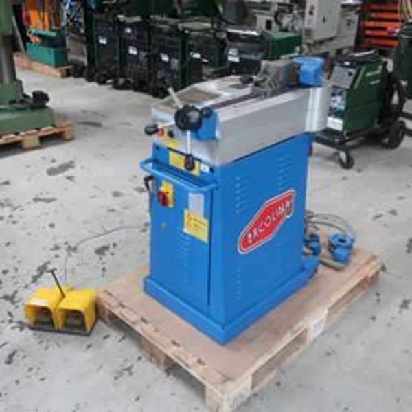 Brugt ercolina TB60 elektrisk rørbukker - Ø60 x 4 mm.