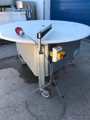 SOCO rundbord, diameter 120cm.
