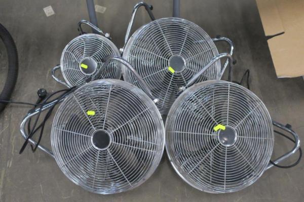 4 stk. ventilatorer
