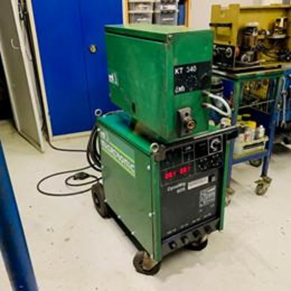 Brugt migatronic dynamig 605 CO-2 anlæg - 605 amp.