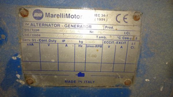 Marelli generator