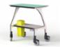 ZILENT tryghedsskabende, akustikoptimerende småmøbler til klinikken